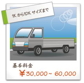 基本料金30000~60000